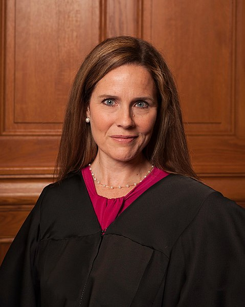 Amy Coney Barrett serves as on the U.S. Court of Appeals for the Seventh Circuit. Many Americans fear she will vote to overturn Roe v. Wade if appointed.