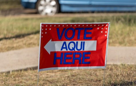 Early voting looked a little different this election season. To promote safety, voters must wear masks, social distance and are given a finger cover or stylist at the polls.