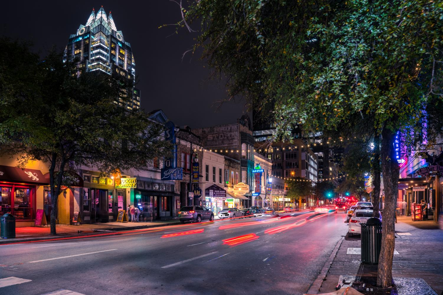 Most nights during the pandemic, Austin