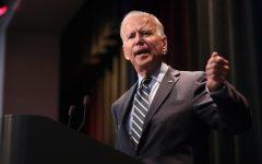 Image is a photo of President Elect Joe Biden.