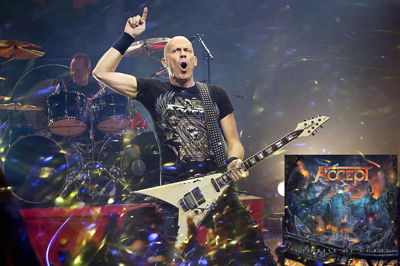 Accept is a German heavy metal band formed in 1976 by Wolf Hoffmann (pictured) and former members Udo Dirkschneider and Peter Baltes.
