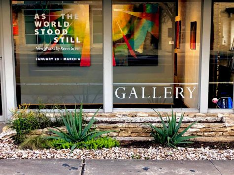 The Davis Gallery is located on the corner of West 12th and Shoal Creek Boulevard. The gallery is open 10-6 on weekdays and 10-4 Saturdays.