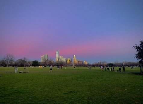 Zilker Park near downtown Austin is great place to spend Valentine