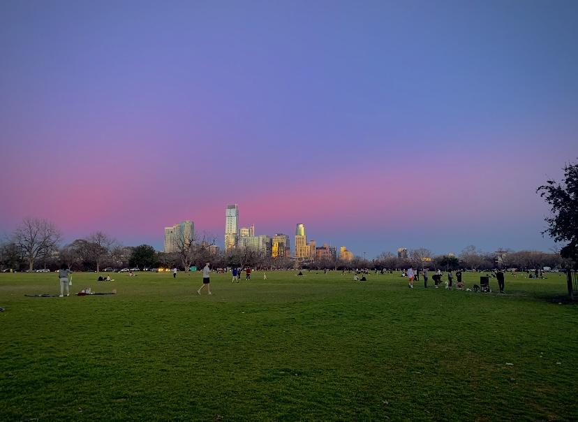 Zilker+Park+near+downtown+Austin+is+great+place+to+spend+Valentine%27s+Day+with+your+significant+other.+During+a+pandemic%2C+it%27s+difficult+to+find+safe+ways+to+celebrate.