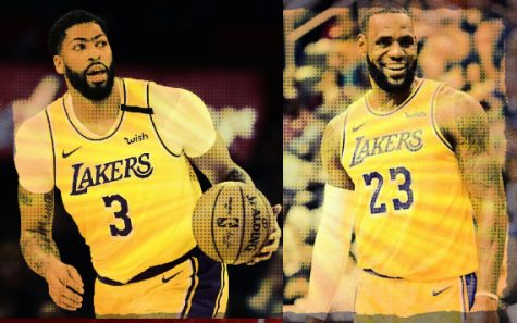 Anthony Davis (left) and LeBron James (right) have formed a formidable partnership at Los Angeles Lakers. Among a group of great NBA duos throughout history, they are now widely considered to be the best.