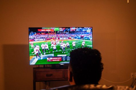 Super Bowl LV was aired on a live telecast by CBS. The Bucs