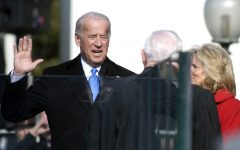 President Biden being sworn in at the 2021 presidential inauguration.