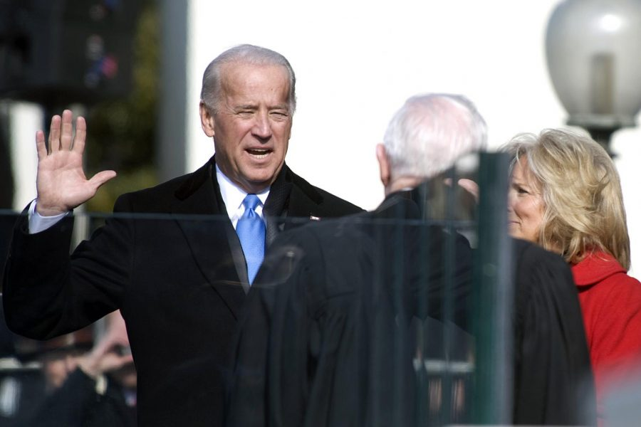 President+Biden+being+sworn+in+at+the+2021+presidential+inauguration.