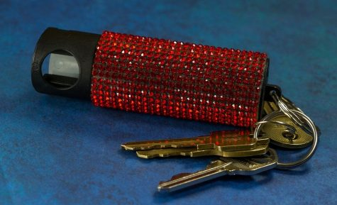 Many women choose to carry around protective devices on their key chains like pepper spray or tasers.