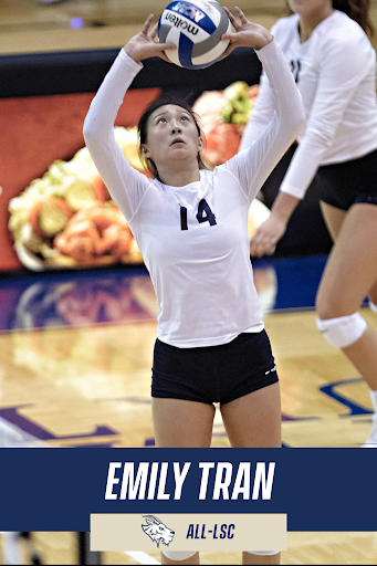Tran is currently majoring in Marketing and pursuing a minor in Psychology. As Tran prepares for graduation, the future seems bright for the young player.