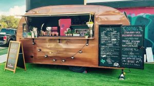 The Rye Bread Bar is a food truck located on South Congress Avenue. The truck is inspired by European cafes and offers crepes, panini's, iced coffee and even mocktails.