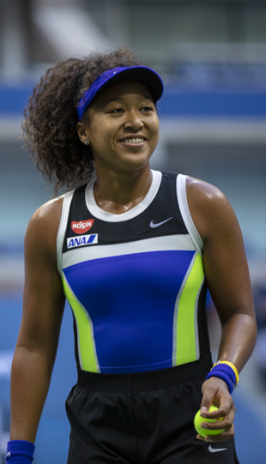 Naomi Osaka a rising young tennis player star recently announced she is taking a step back from competition to focus on herself.