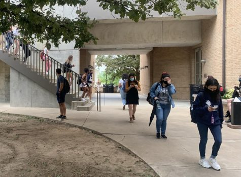 Even though they have been attending school for a year now, sophomores return to campus feeling like freshman because being in-person is brand new to them.
