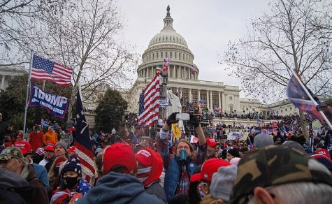 Trump Supporters storm the capitol on Jan. 6th to try and prevent congress from certifying Joe Bidens election.