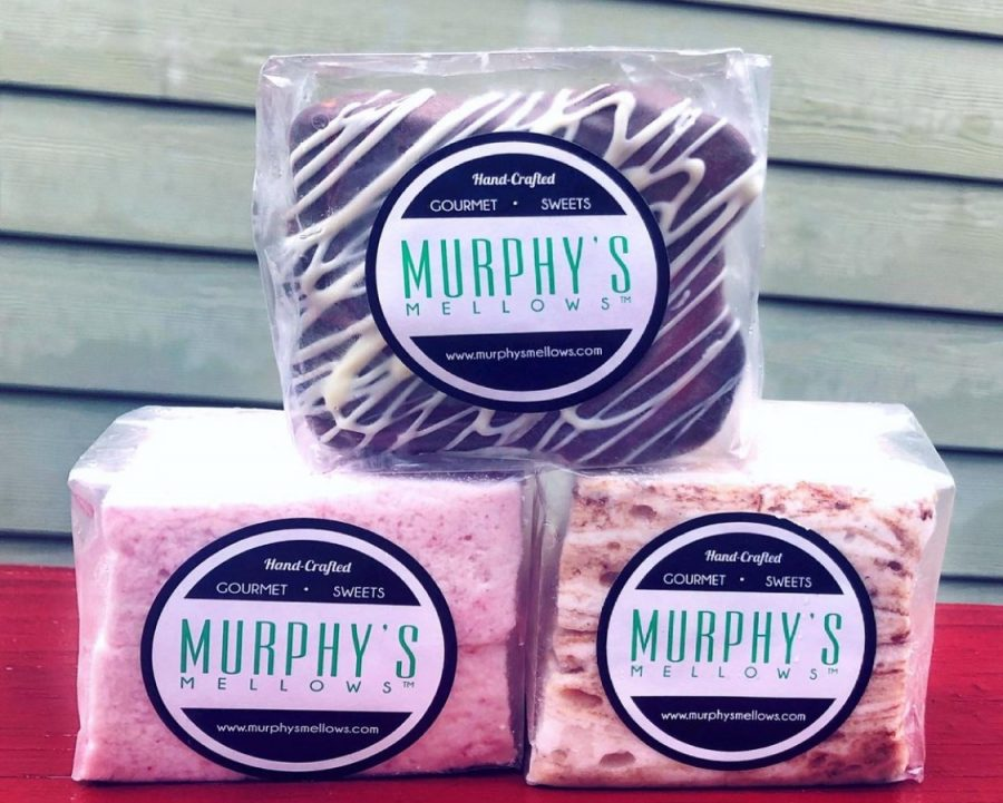 Murphys Mellows specializes in gourmet marshmallows and smores. You can find them at a variety of farmers markets.