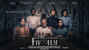 The Family premiered at Busan International Film Festival this year. The film is a psychological thriller directed by Dan Slater.