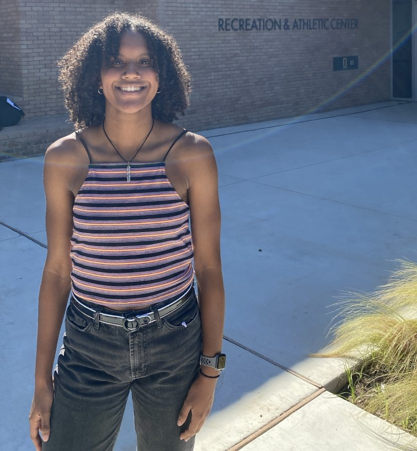 After having an amazing month on the court Maya Smalls was named G.O.A.T of the month for the month of September.