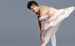 Harry Styles poses for Mary Ellen Matthews photo shoot in 2019.