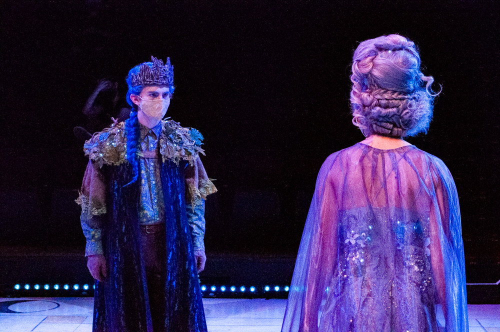 The Mary Moody Northen Theatres production of A Midsummer Nights Dream was directed by Robert Tolaro. The show ran from the weekend of Sept. 23 to the weekend of Oct. 3.